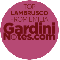 Gardini Notes Top Lambrusco