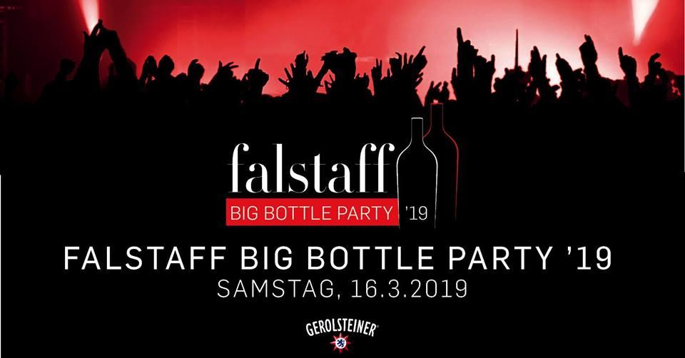 banner con evento falstaff big bottle party