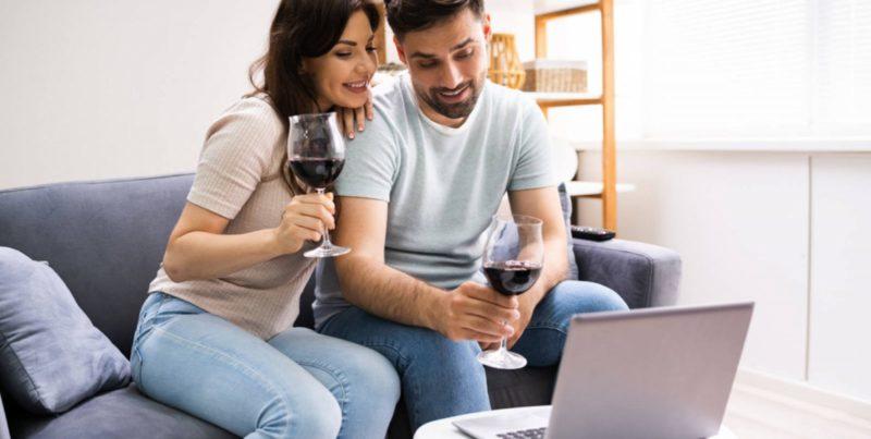 live online wine tasting