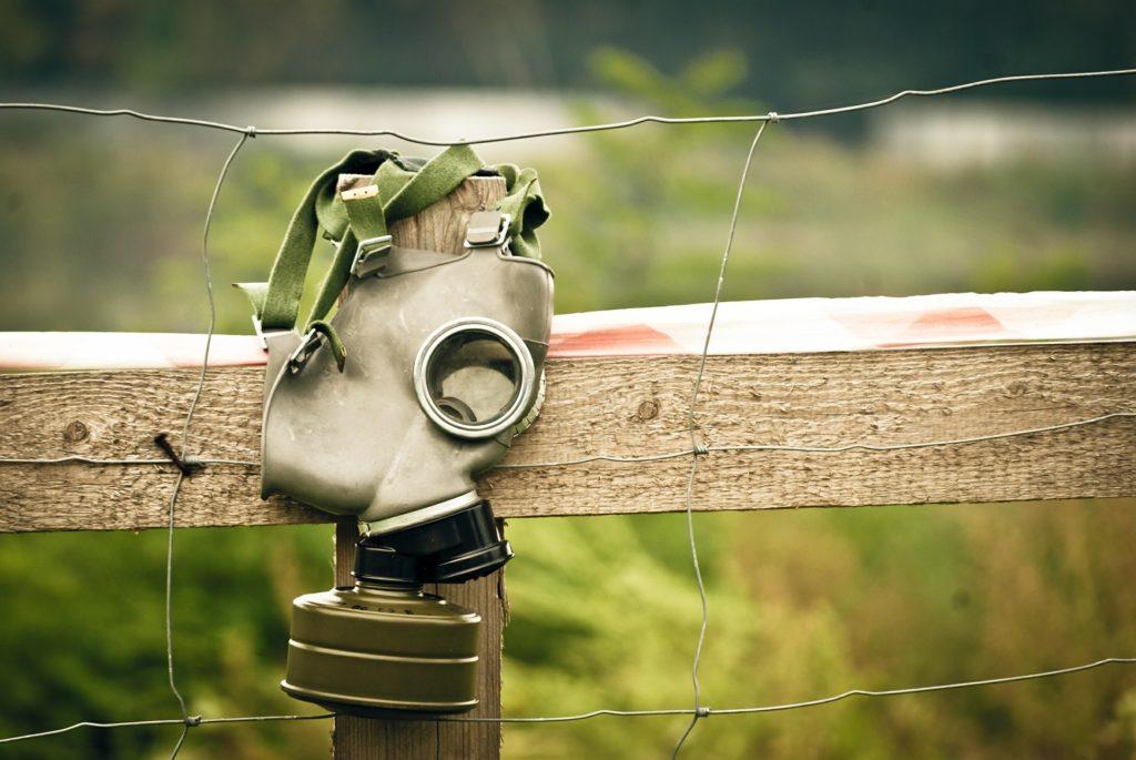 maschera di protezione da sostanze chimiche