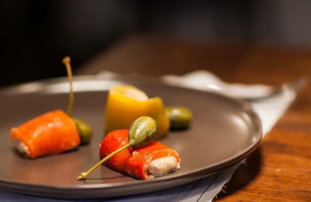 menù gourmet luglio peperoni tonnati